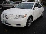 2008 Super White Toyota Camry CE #37637452