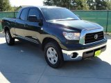 2008 Timberland Green Mica Toyota Tundra Double Cab #37637909