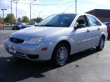 2005 CD Silver Metallic Ford Focus ZX4 SE Sedan #37637480