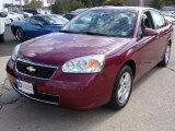2007 Sport Red Metallic Chevrolet Malibu LT Sedan #37637747