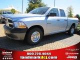 2010 Bright Silver Metallic Dodge Ram 1500 ST Quad Cab #37637754
