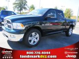 2011 Hunter Green Pearl Dodge Ram 1500 Big Horn Quad Cab #37637760