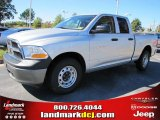 2011 Bright Silver Metallic Dodge Ram 1500 ST Quad Cab #37637763