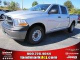 2011 Bright Silver Metallic Dodge Ram 1500 ST Crew Cab #37637764