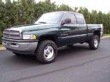 2001 Forest Green Pearl Dodge Ram 1500 ST Club Cab 4x4 #37637945