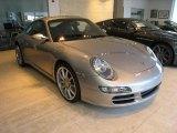 2007 GT Silver Metallic Porsche 911 Carrera Coupe #37637539