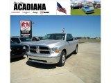 2010 Bright Silver Metallic Dodge Ram 1500 SLT Quad Cab 4x4 #37637791