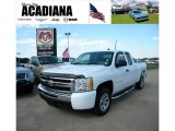 2009 Summit White Chevrolet Silverado 1500 LS Extended Cab #37637802