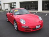 2008 Guards Red Porsche 911 Carrera S Coupe #37637566