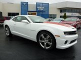 2010 Summit White Chevrolet Camaro SS/RS Coupe #37637821