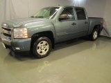 2007 Blue Granite Metallic Chevrolet Silverado 1500 LT Z71 Crew Cab 4x4 #37638038