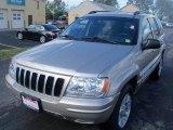 2002 Silverstone Metallic Jeep Grand Cherokee Limited 4x4 #37637577
