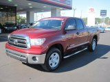2010 Salsa Red Pearl Toyota Tundra Double Cab 4x4 #37638054