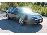 2011 Tuxedo Black Metallic Ford Fusion SE #37637592