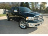2011 Hunter Green Pearl Dodge Ram 1500 Laramie Crew Cab 4x4 #37638382