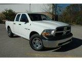 2010 Stone White Dodge Ram 1500 ST Quad Cab 4x4 #37638384
