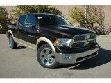 2011 Rugged Brown Pearl Dodge Ram 1500 Laramie Crew Cab 4x4 #37638385