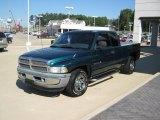 1998 Emerald Green Pearl Dodge Ram 1500 Laramie SLT Extended Cab 4x4 #37638094