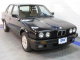 1990 Jet Black BMW 3 Series 325i Sedan #37638111