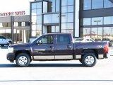 2008 Dark Cherry Metallic Chevrolet Silverado 1500 LT Crew Cab 4x4 #37699836