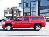 2009 Victory Red Chevrolet Silverado 1500 LT Crew Cab 4x4 #37699843