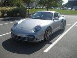 2007 GT Silver Metallic Porsche 911 Turbo Coupe #37699871