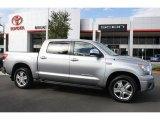 2008 Silver Sky Metallic Toyota Tundra Limited CrewMax 4x4 #37699060