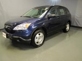 2009 Royal Blue Pearl Honda CR-V LX 4WD #37699625