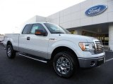 2010 Oxford White Ford F150 XLT SuperCab 4x4 #37699372