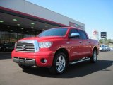 2007 Radiant Red Toyota Tundra Limited CrewMax #37699655