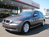 2007 Space Gray Metallic BMW 3 Series 328i Sedan #37699659