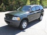2004 Aspen Green Metallic Ford Explorer XLS 4x4 #37699974