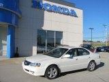 2003 White Diamond Pearl Acura TL 3.2 Type S #37699104