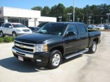 2009 Black Granite Metallic Chevrolet Silverado 1500 LT Crew Cab #37699717