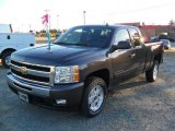 2011 Taupe Gray Metallic Chevrolet Silverado 1500 LT Extended Cab 4x4 #37700010