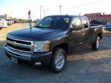 2011 Taupe Gray Metallic Chevrolet Silverado 1500 LT Extended Cab 4x4 #37700011