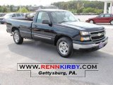 2006 Dark Blue Metallic Chevrolet Silverado 1500 LT Regular Cab #37699754