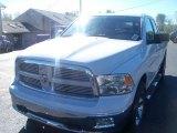 2011 Bright White Dodge Ram 1500 Big Horn Quad Cab 4x4 #37699169