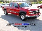 2006 Victory Red Chevrolet Silverado 1500 Z71 Crew Cab 4x4 #37699756
