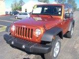 2011 Mango Tango Pearl Jeep Wrangler Sport S 4x4 #37699171