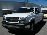 2005 Summit White Chevrolet Silverado 1500 LS Extended Cab 4x4 #37700030