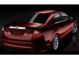 2011 Bordeaux Reserve Metallic Ford Fusion SE #37699184