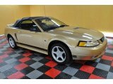 2000 Sunburst Gold Metallic Ford Mustang GT Convertible #37699770