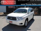 2010 Blizzard White Pearl Toyota Highlander  #37699236