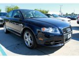 2008 Deep Sea Blue Pearl Effect Audi A4 2.0T quattro Sedan #37699495