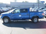 2010 Blue Flame Metallic Ford F150 XLT SuperCrew 4x4 #37699592