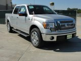 2010 Ingot Silver Metallic Ford F150 Lariat SuperCrew #37777211