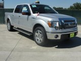 2010 Ingot Silver Metallic Ford F150 Lariat SuperCrew #37777213