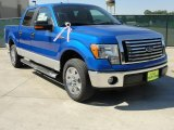 2010 Blue Flame Metallic Ford F150 XLT SuperCrew #37777214