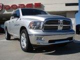 2011 Bright Silver Metallic Dodge Ram 1500 Big Horn Quad Cab 4x4 #37777499